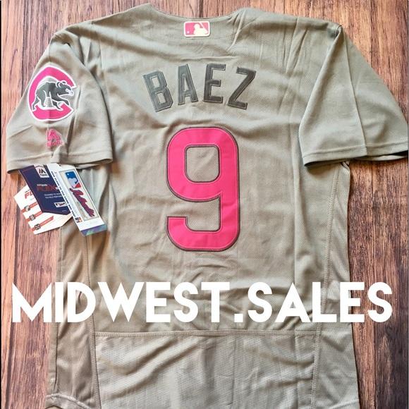 89b4643b Majestic Shirts | New Javier Baez Chicago Cubs Jersey | Poshmark